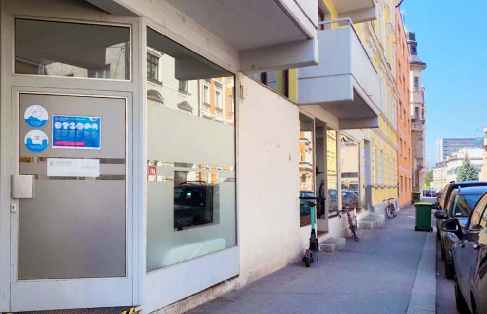 Schöpfstraße 19a, Labor Wick in Innsbruck, Testen und Impfen